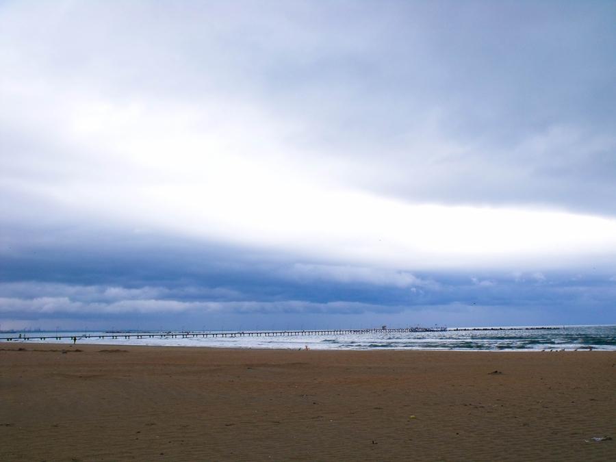 marea neagra dupa furtuna constanta
