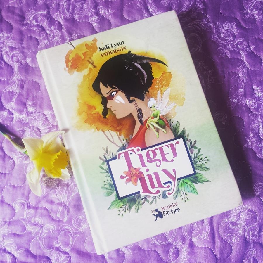 coperta carte tiger lily jodi lynn anderson editura booklet fiction