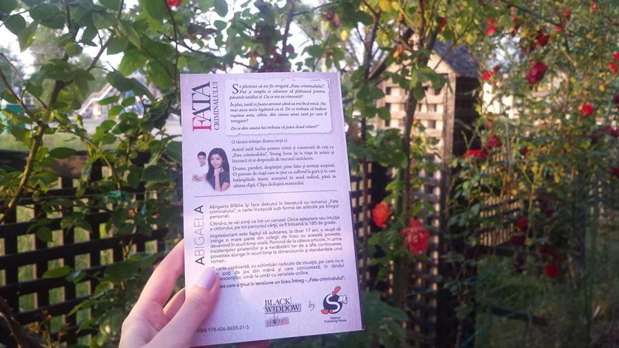 coperta spate carte fata criminalului abigaela bilbiie