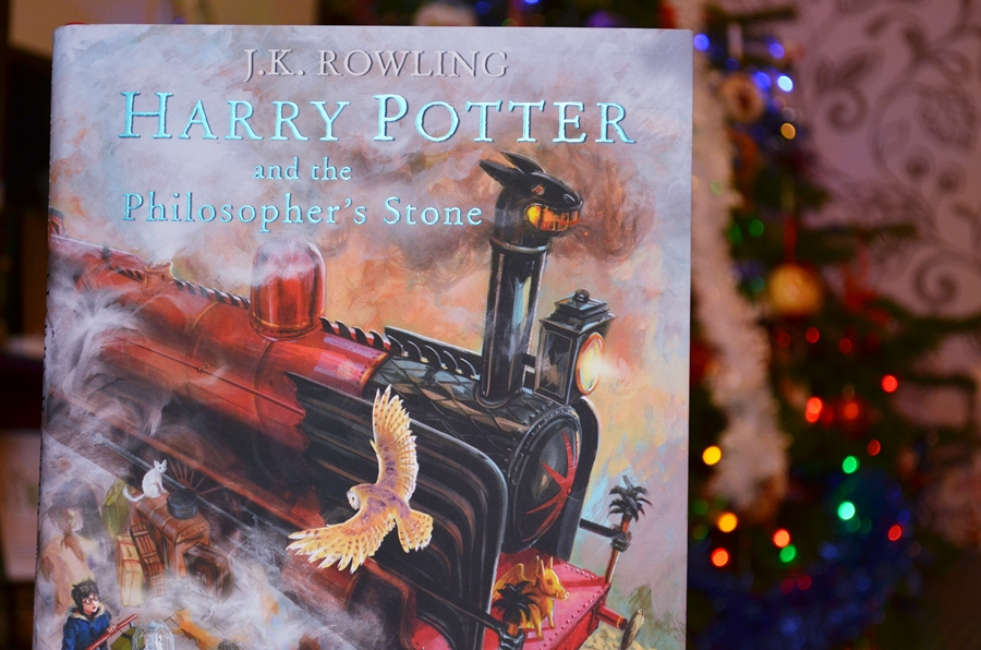 harry potter and the philosopher's stone illustrated book