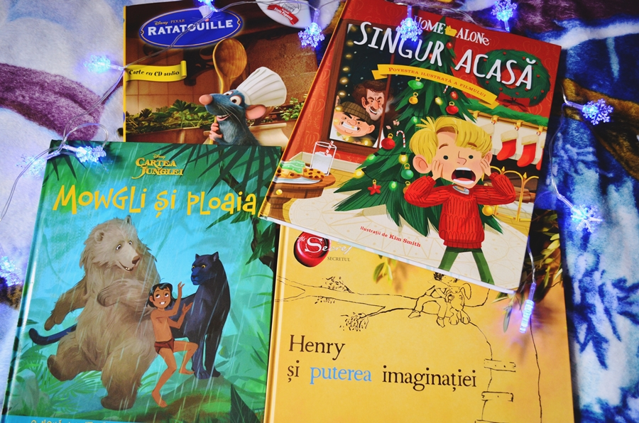 carti in dar pentru fetite si baieti editura litera mowgli ratatouille singur acasa henry si puterea imaginatiei