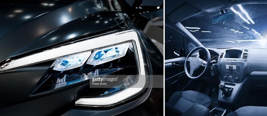 masina leduri auto