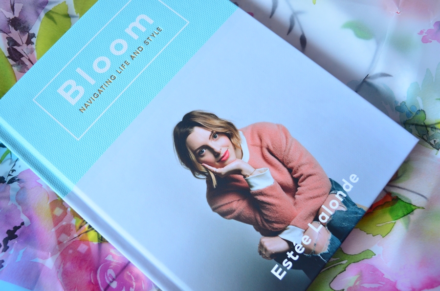 recenzie coperta carte bloom navigating life and style estee lalonde