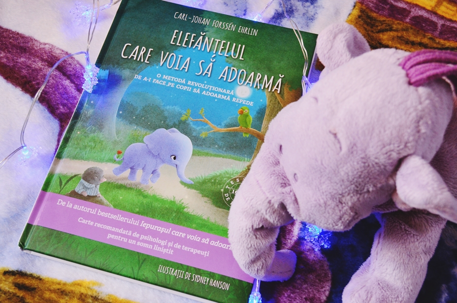 carte elefantelul care voia sa adoarma carl johan forssen ehrlin editura litera