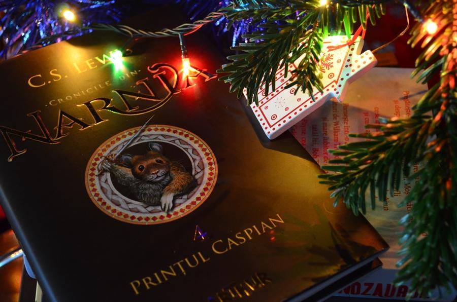 carte cronicile din narnia printul caspian c.s. lewis editura arthur pom craciun