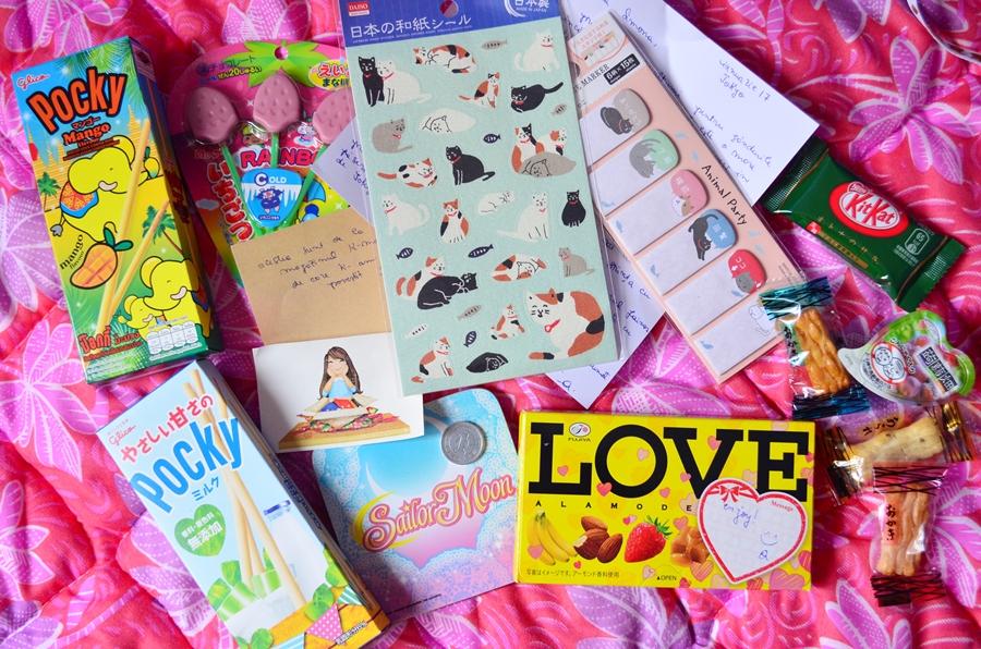 dulciuri japoneze pocky kit kat stickere pisici