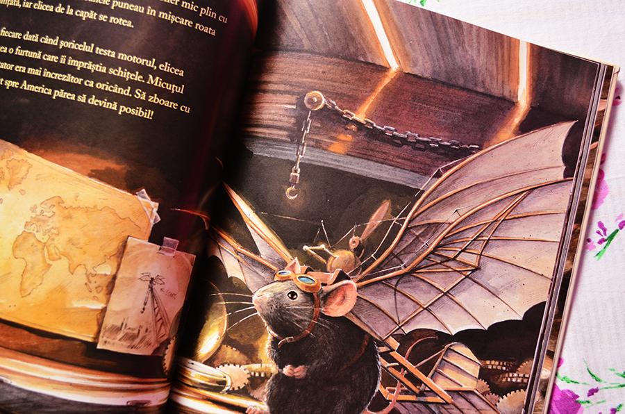 carte lindbergh povestea unui soricel zburator torben kuhlmann