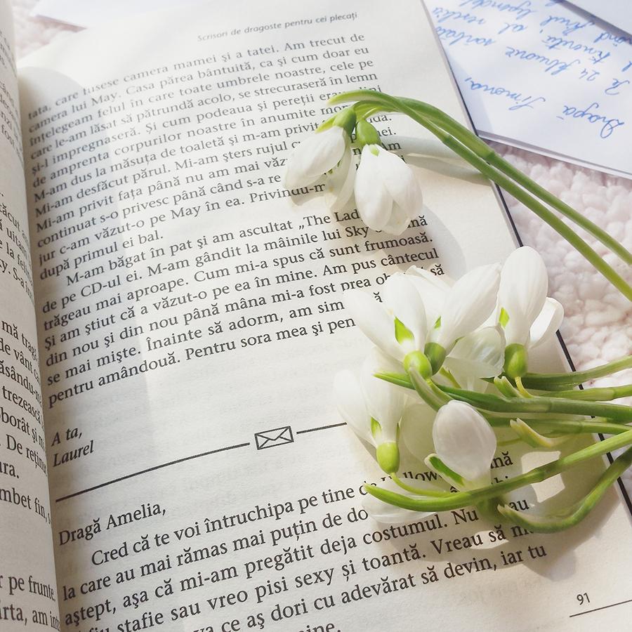 carte scrisori de dragoste pentru cei plecati ava dellaira ghiocei