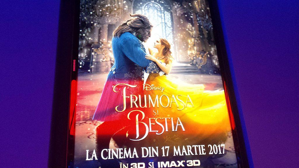 recenzie film poster frumoasa bestia beauty beast