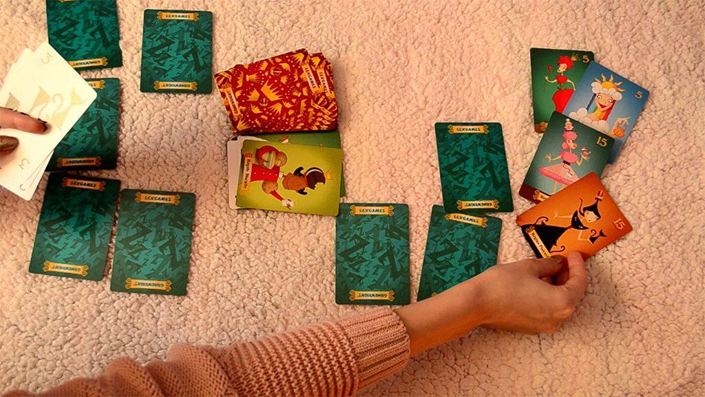 joc carti reginele adormite sleeping queens cum se joaca lex games