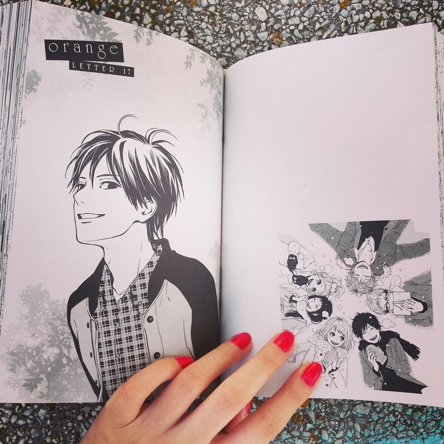 recenzie manga orange the complete collection 2 takano ichigo