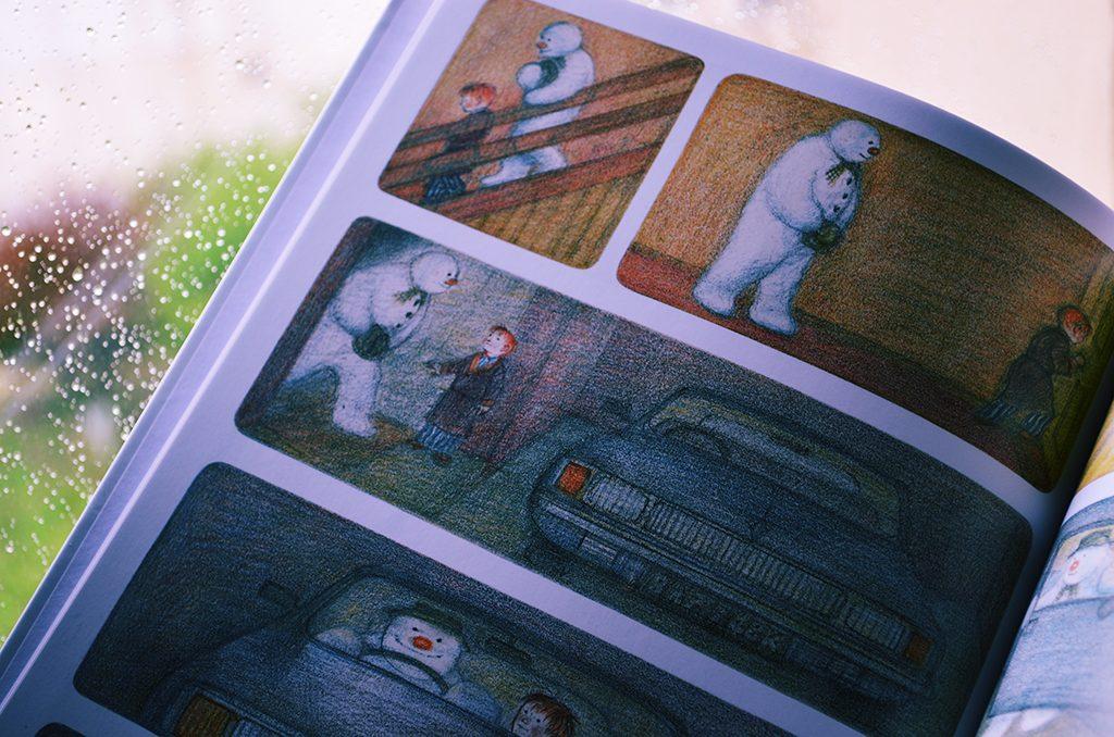 carte roman grafic omul de zapada raymond briggs editura arthur