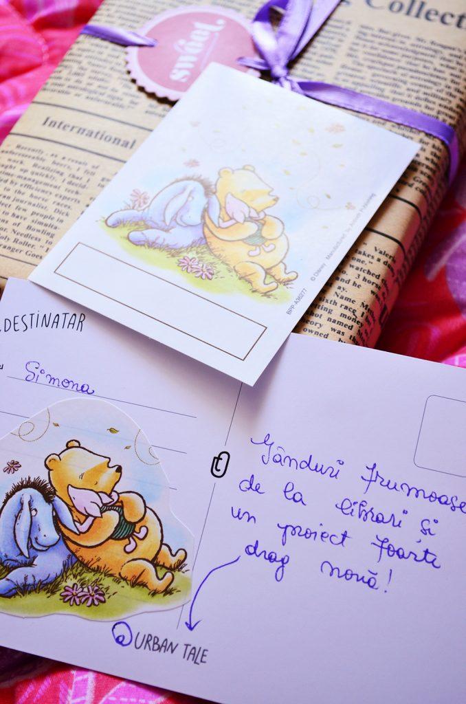 ambalare carte books express cadou nancy drew stickere winnie the pooh