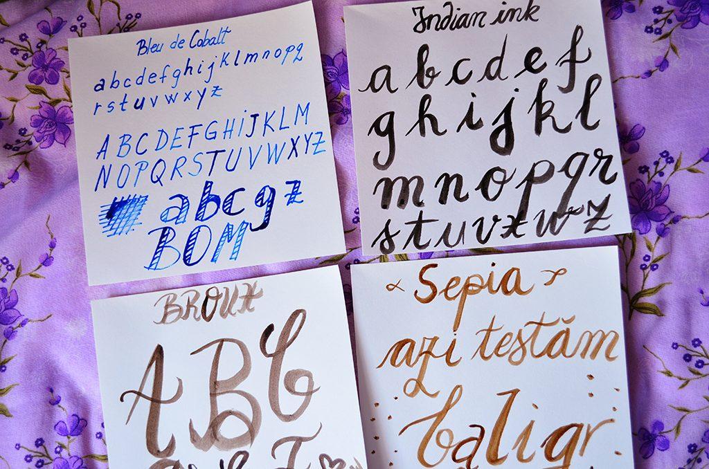 primii pasi in caligrafie ghid pentru incepatori sennelier