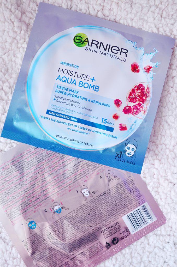 masti fata garnier skin naturals comfort aqua bomb