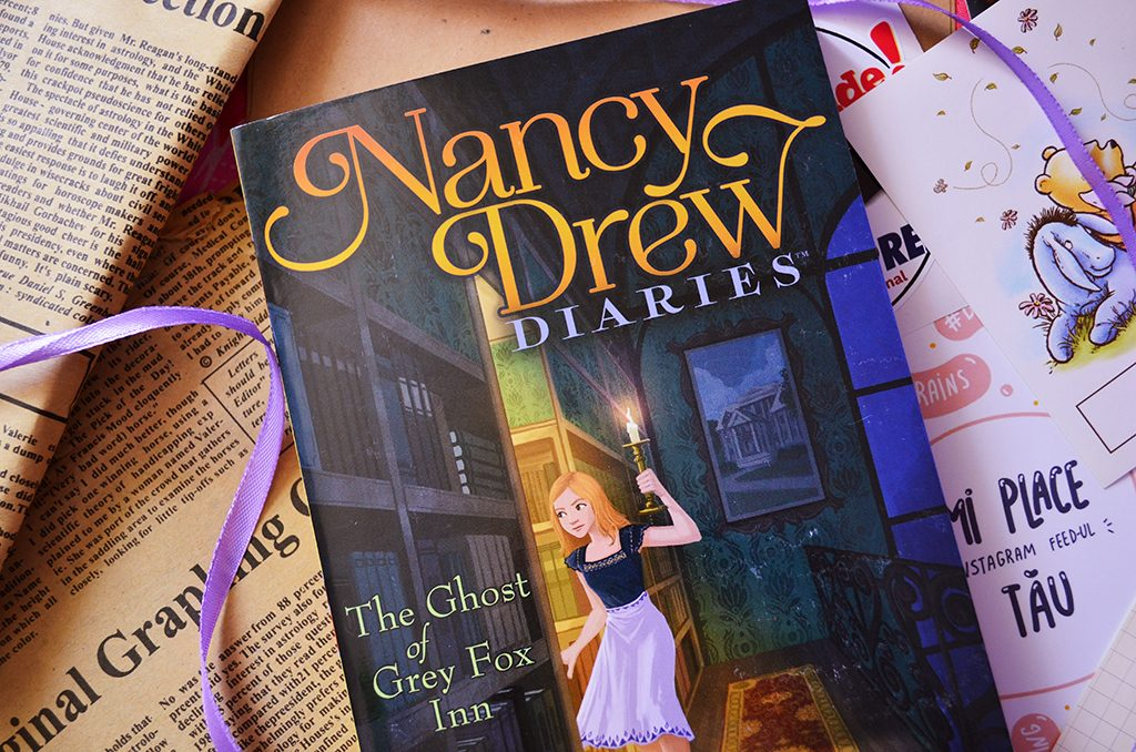 carte The Ghost of Grey Fox Inn Nancy Drew Diaries 13 Carolyn Keene