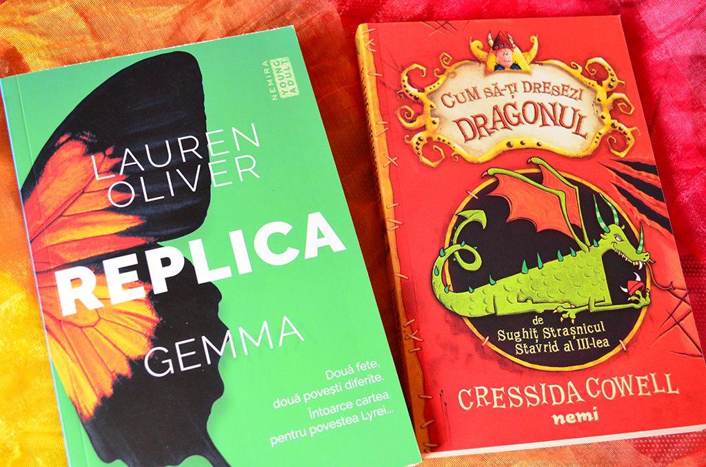 book haul carti replica dragonul taramul povestilor vassa noaptea pisicuta nemira nemi