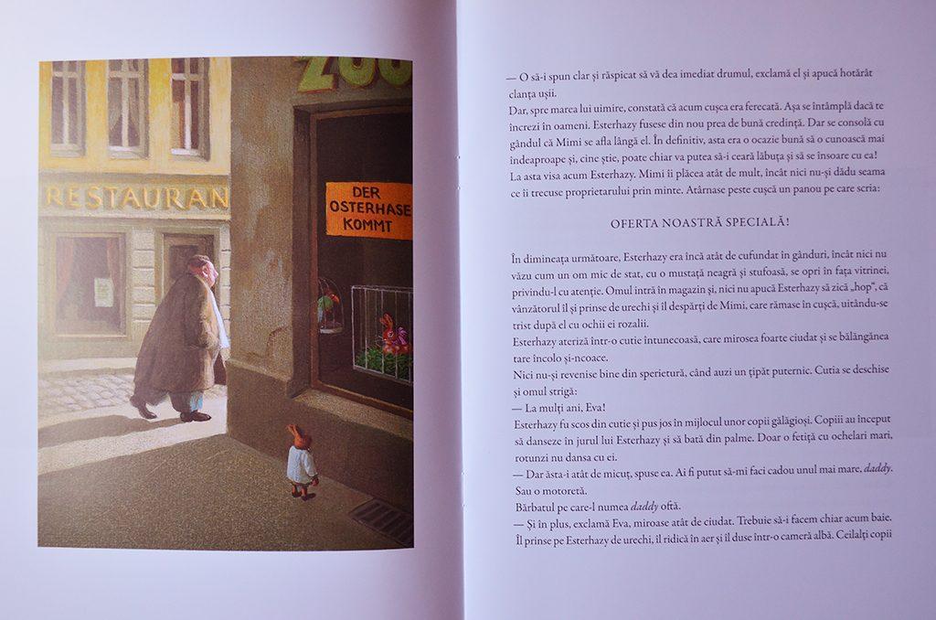 carte recenzie esterhazy printul iepure irene dische hans magnus editura pandora m