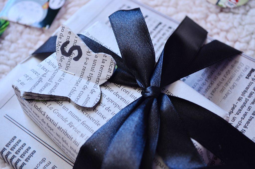 pachet ambalaj cadou