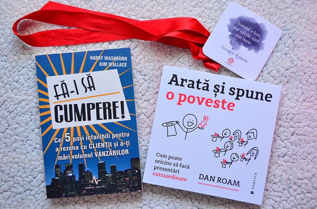 2 carti idei promovare afacere fa-i sa cumpere arata spune o poveste