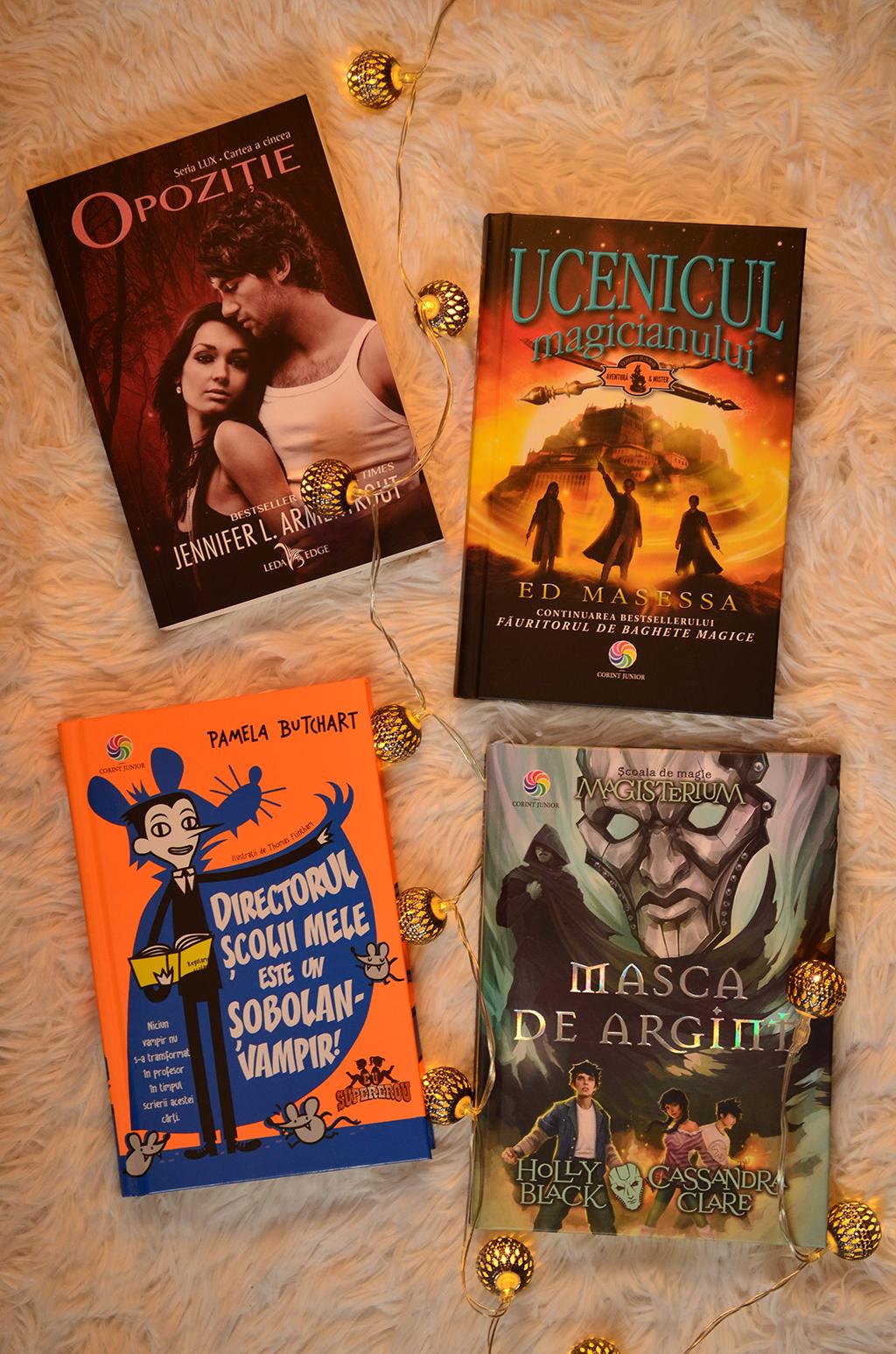 noutati carti corint junior magisterium opozitie lux ucenicul magicianului directorul scolii mele este un sobolan vampir