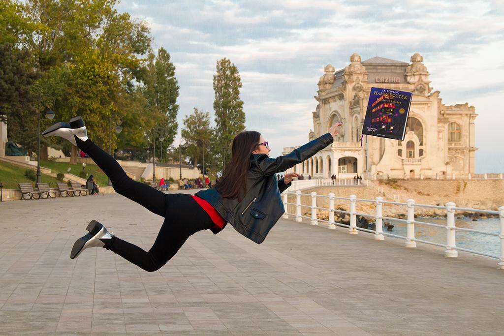 girl levitate book harry potter prisoner azkaban floating casino constanta