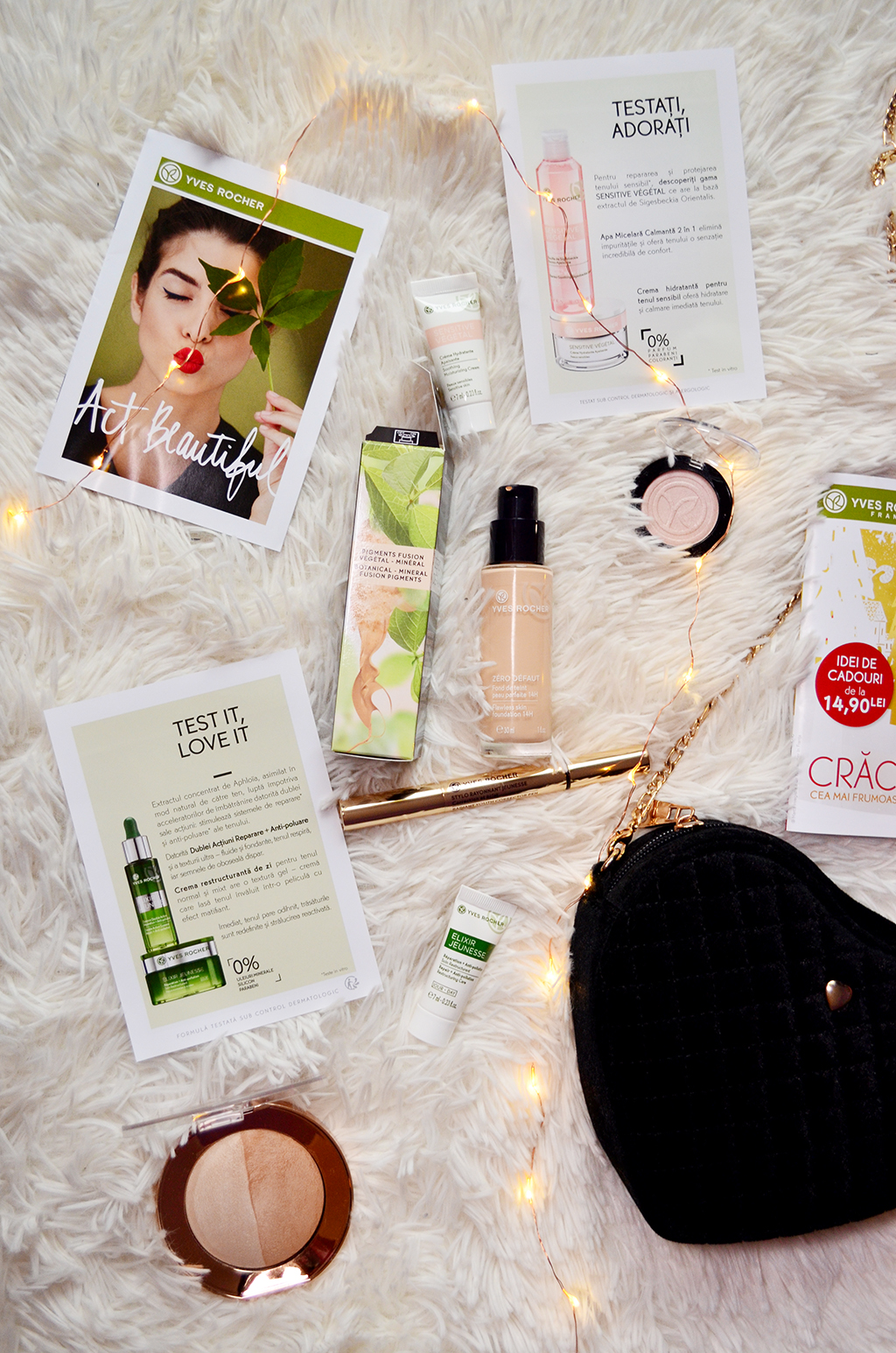 haul beauty yves rocher