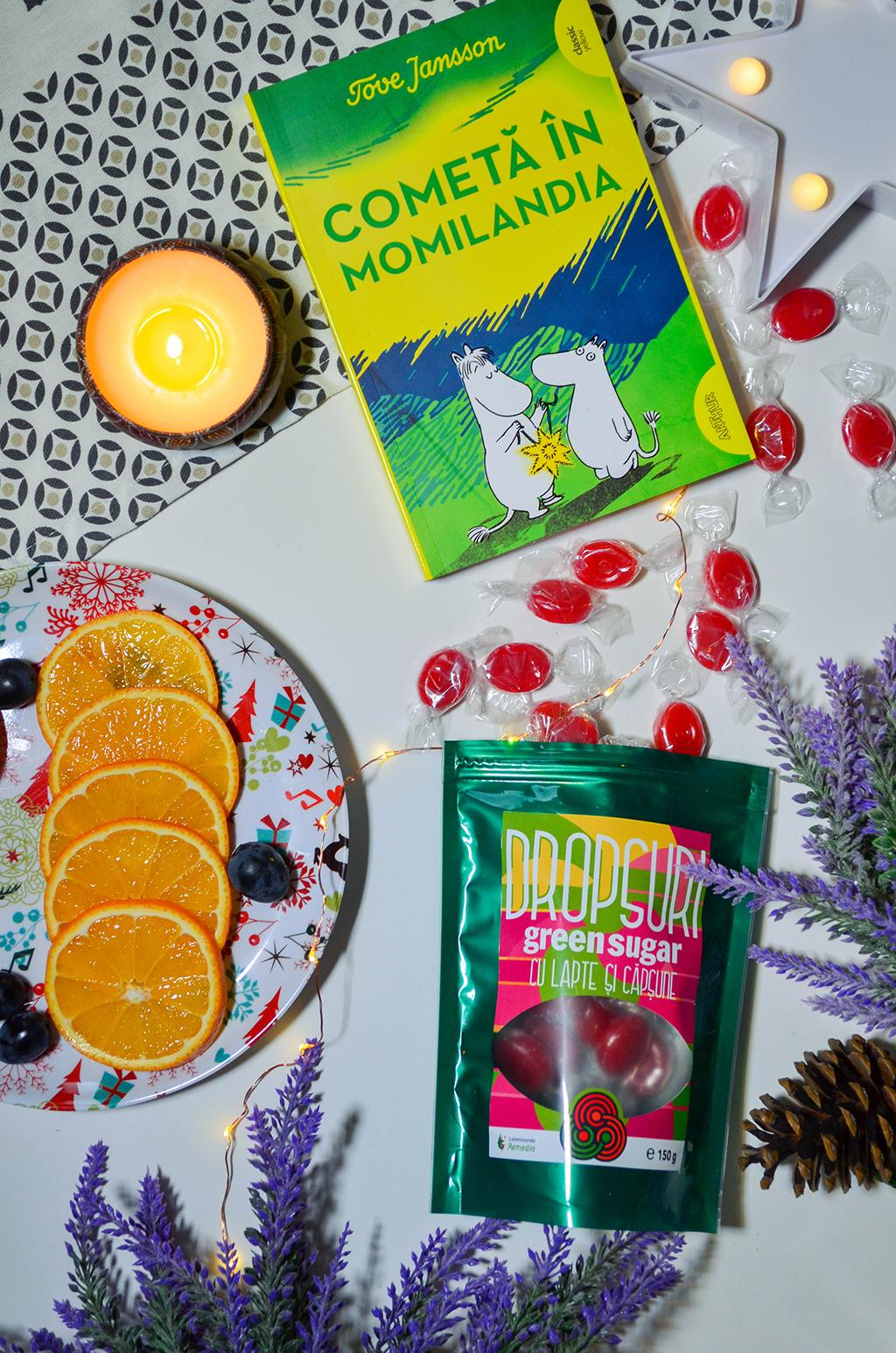 review health dropsuri cu lapte capsune cafea green sugar natural fara zahar