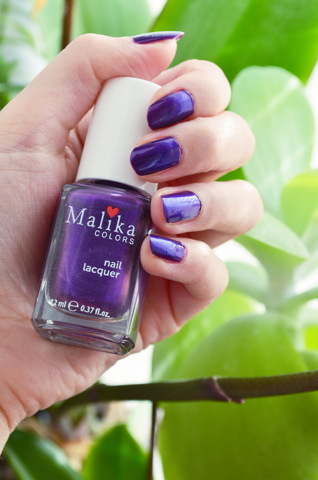 malika colors nailpolish oja pantone color ultraviolet 2018