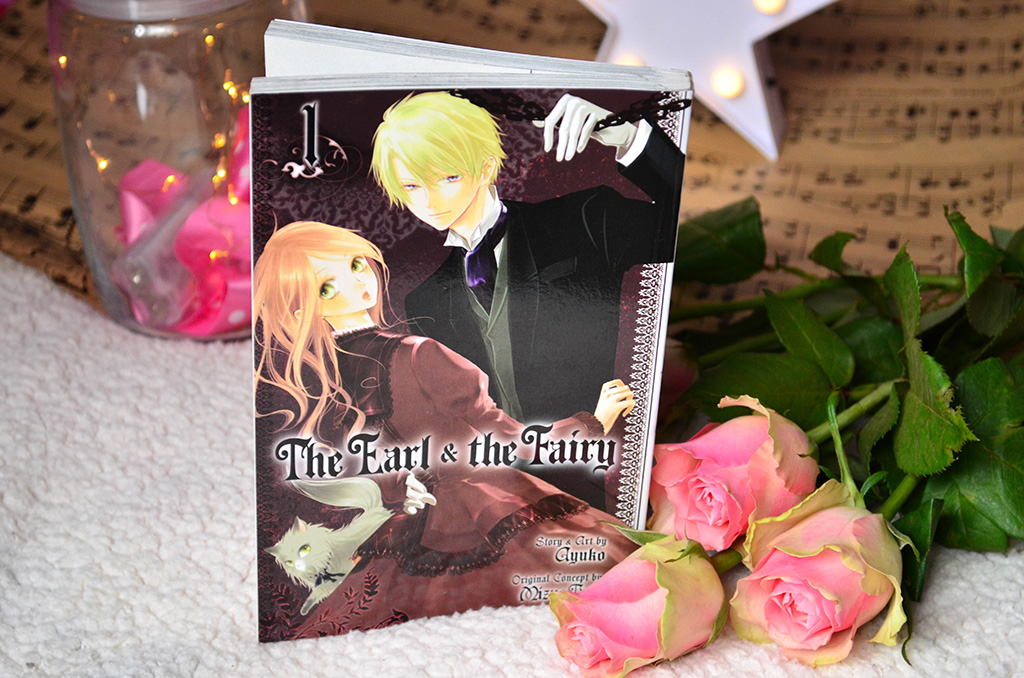 recenzie review manga time the earl and the fairy