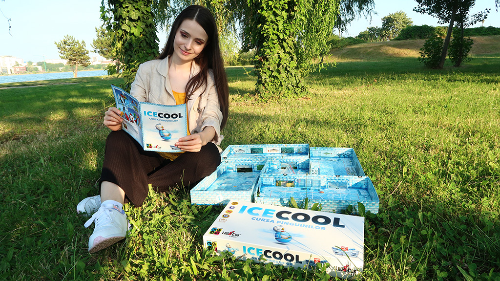 recenzie review icecool cursa pinguinilor joc societate boardgame ludicus games