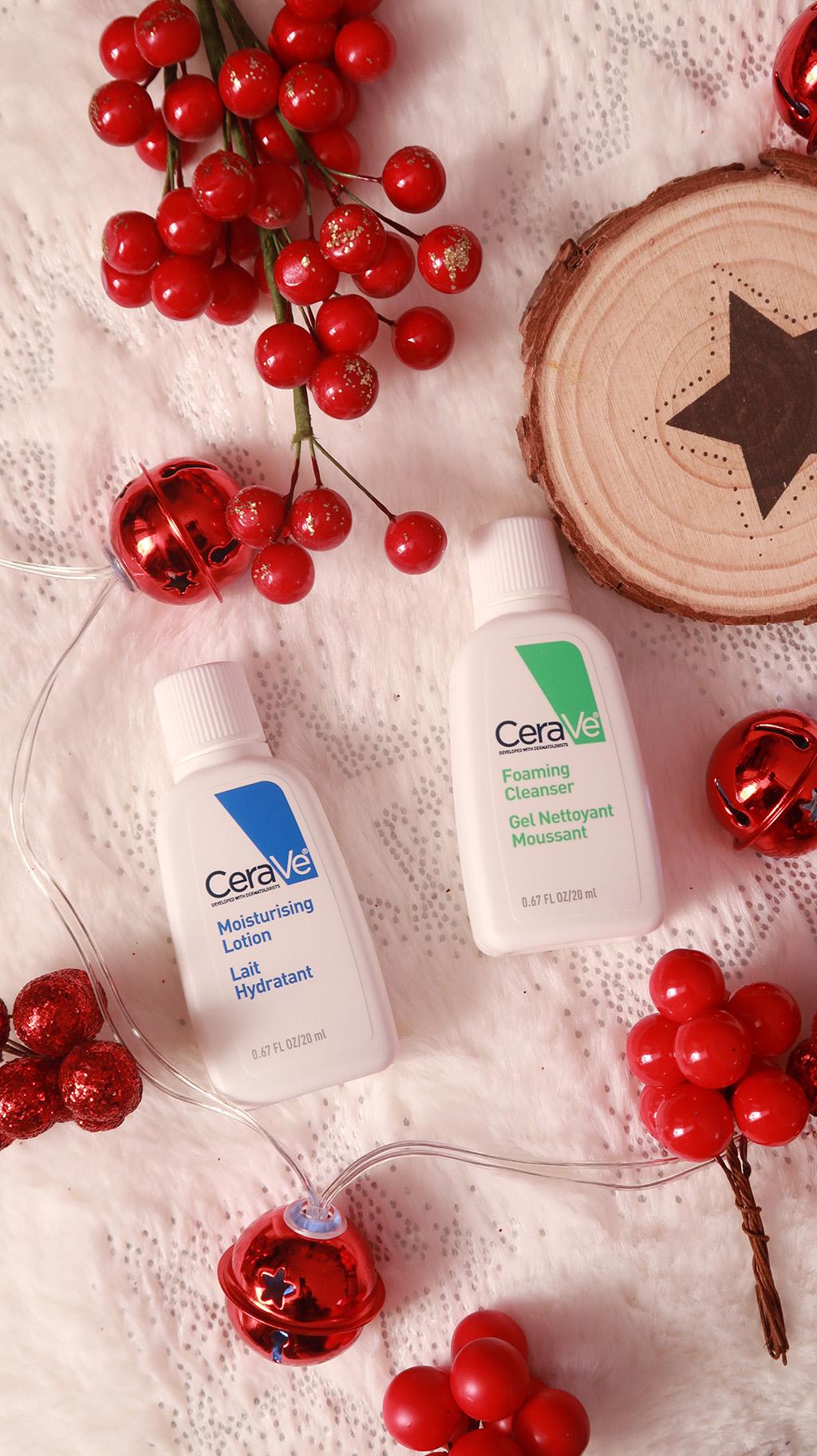 rutina de ingrijire a pielii iarna cu cerave balsam hidratant cleanser