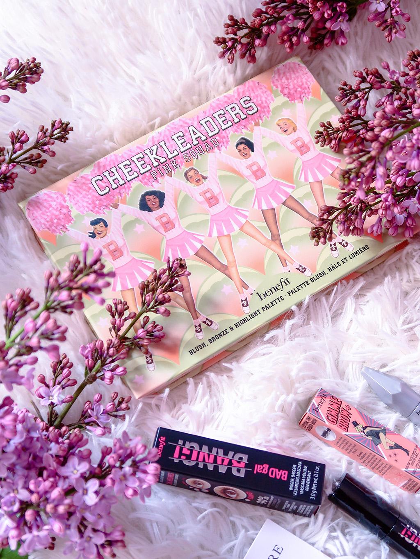 comanda sephora paleta benefit cheekleaders pink squad mascara bad gal bang porefessional gimme brow