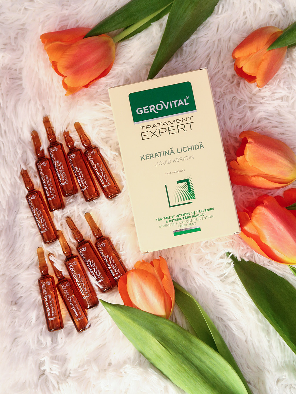 review recenzie gerovital tratament expert sampon uscat antimatreata ser masca fiole