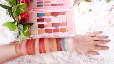 notino makeup revolution kisu paleta farduri