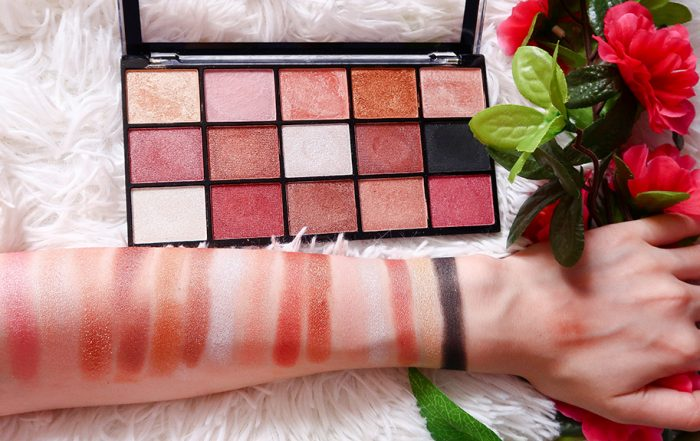 makeup revolution reloaded affection paleta farduri