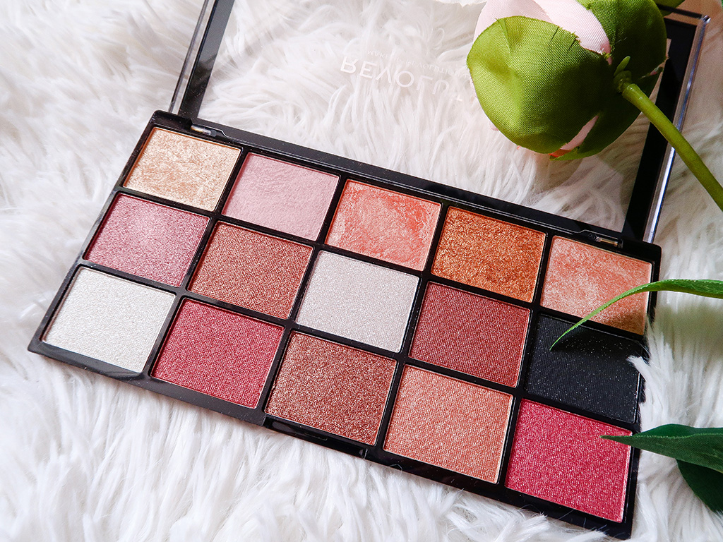 makeup revolution reloaded affection paleta farduri