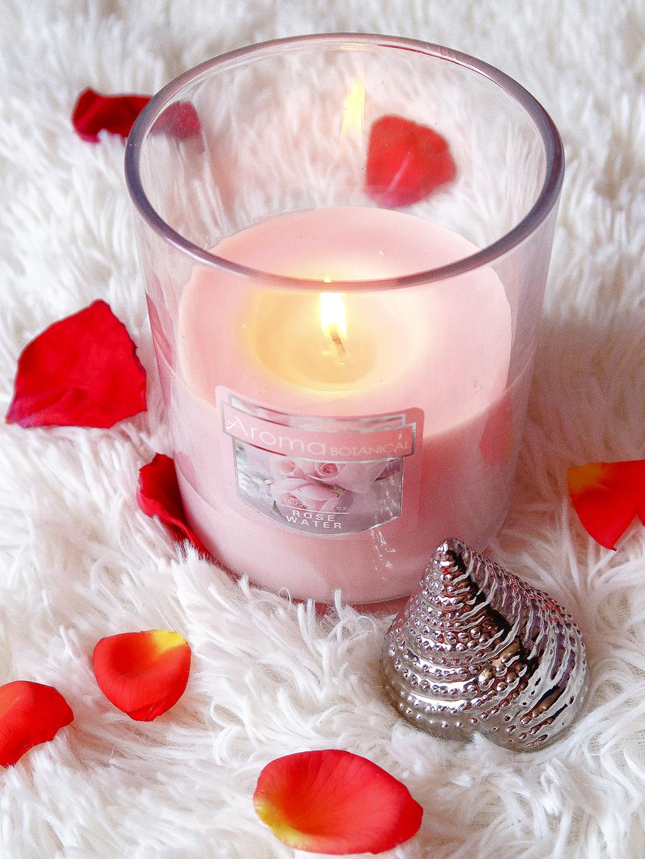lumanare pepco rose trandafir