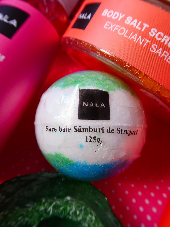 nala produse naturale corp gel dus bomba baie scrub buze spuma