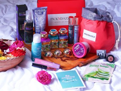 unboxing pick n dazzle beauty box iulie july teeez cosmetics living garden treets traditions miss kay