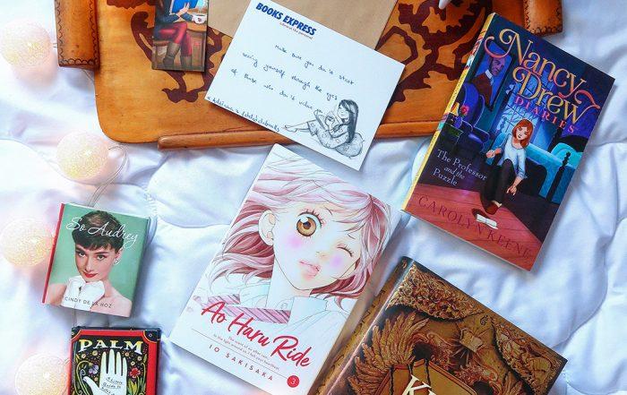 books express carti palm leaf reading ao haru ride manga king of scars