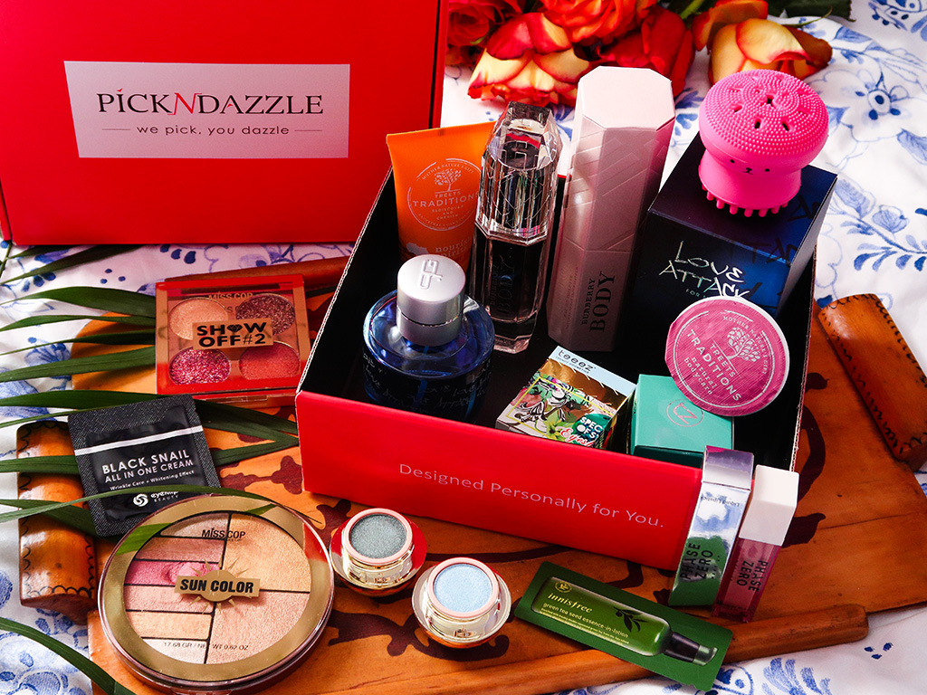 unboxing beauty box pickndazzle
