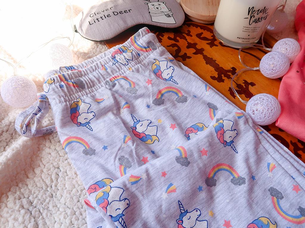 lady line pijamale pufoase toamna iarna unicorni curcubeu
