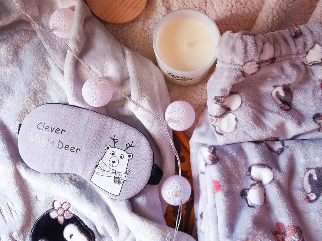 lady line pijamale pufoase toamna iarna pinguini