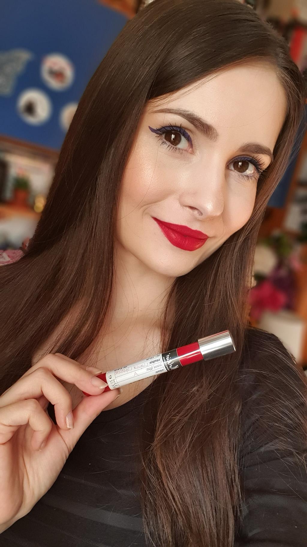 melkior alexia eram blood collection lipstick ruj mat lichid