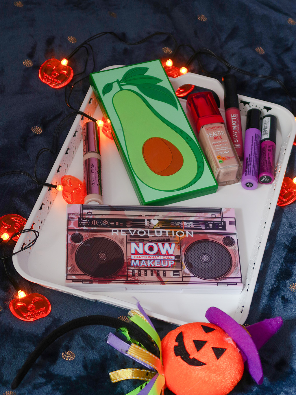 notino machiaj halloween makeup paleta makeup revolution tasty avocado