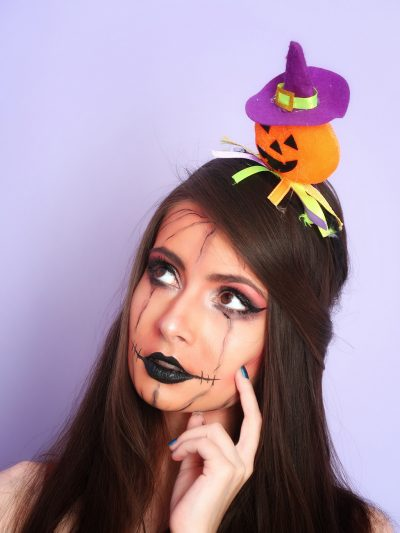 machiaj halloween makeup wannabe pumpkin witch