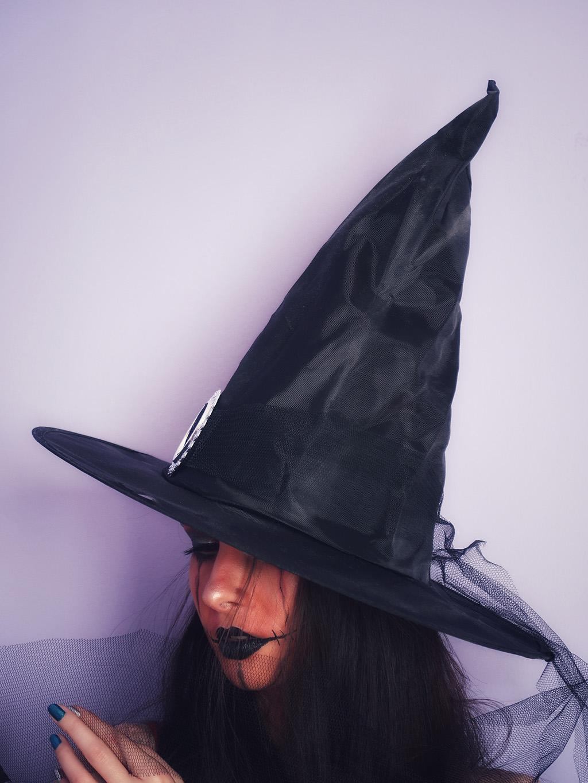 machiaj halloween makeup wannabe pumpkin witch