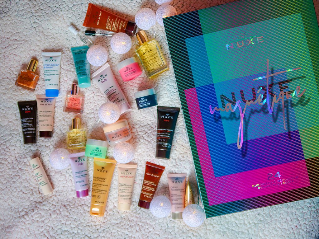 notino idei cadouri craciun advent calendar nuxe magnetique makeup revolution