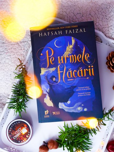 recenzie carte pe urmele flacarii hafsah faizal editura storia